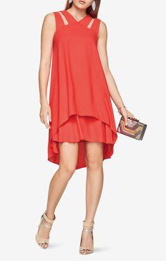 Kristi Cutout Dress bcbg; $198 plus 30% off