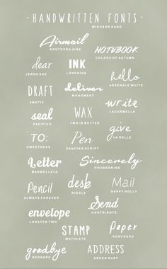 fonts | Search Results | Last days of Spring