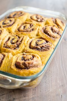 Sweet potato cinnamon rolls with pecans and bourbon maple icing :)