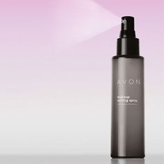 Avon Make up Setting Spray - Helps set foundation, blush and eye make-up in place. Micro-fine mist dries quickly to an invisible finish.  Non-sticky formula infused with vitamins A, C and E. 125ml