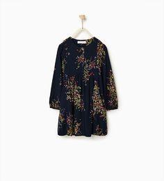 Image 1 of Printed shirt dress from Zara