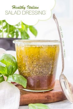 Healthy Keto Italian Dressing