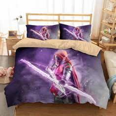 Description: Item Is Customize Style,The Producing Time Is Days. Microfiber,Soft and Comfortable. Dyeing,Never Lose Color. Newest Design,Destiny and Personality. Total Have Duvet Pillowcases(Twin Size Have Any Quilt/Comforter/Filling.