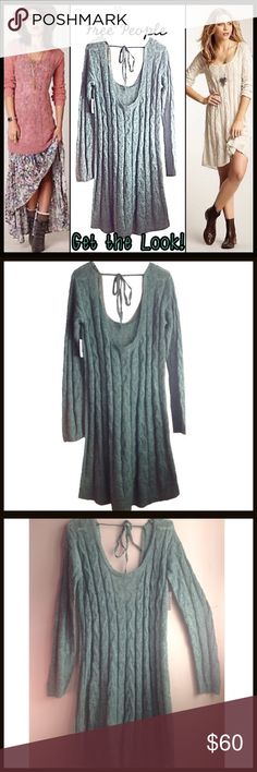 Free People Sweater Dress/Tunic Free People Sweater Dress/Tunic Free People Sweaters