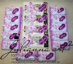 Оформление Барни и шоколадок для празднования Дня Рождения замечательной девочки Киры в Детском саду.   С Днем Рождения, Кира!!! Пусть у тебя все будет хорошо!!! :)