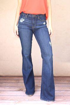 Dark Flare Jeans