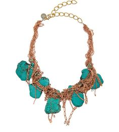 Is Turquoise still in for Spring/Summer '11? #jewelry #turquoise #necklace