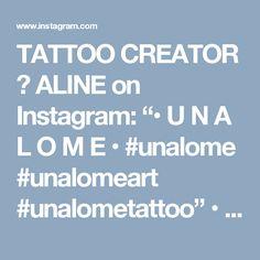 "TATTOO CREATOR ☾ ALINE on Instagram: ""• U N A L O M E • #unalome #unalomeart #unalometattoo"" • Instagram"