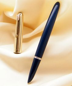 """The legendary Parker """"51"""" - arguably the most famous fountain pen ever made, and a vintage collector's delight."""