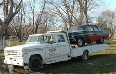 Car hauler and race car