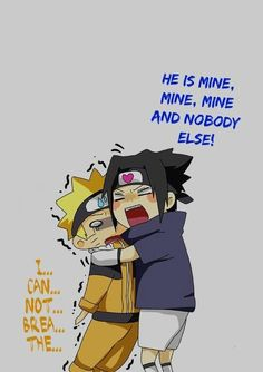 CHIBI SASUNARU IS SO EFFING CUTEE<<<< I dont even ship this but its so flippin funny