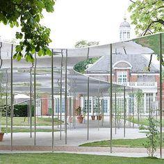 Serpentine Gallery Pavilion by SANAA photographed by Iwan Baan
