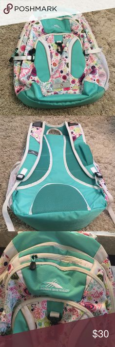 High Sierra Backpack High Sierra Backpack. In perfect condition. High Sierra Bags Backpacks
