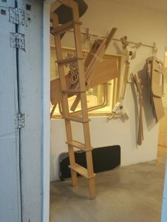 Hanging around...store stock and other items around the shop on handmade Blok hooks - hooks also for sale