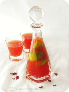 The Creative Pot: Rose Syrup Iced Tea