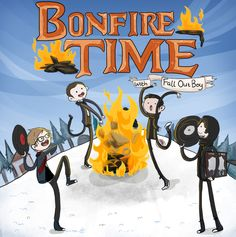 Bonfire Time with Fall Out Boy by Chocoreaper.deviantart.com on @deviantART