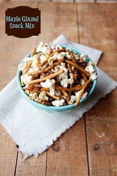 How To Make Maple Glazed Snack Mix