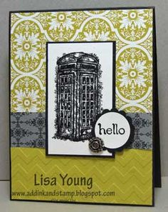 Hello, anyone there? by genesis - Cards and Paper Crafts at Splitcoaststampers