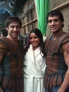 Henry Cavill- Set of Immortals
