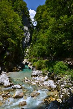 Wąwóz Tolmin - Wąwozy w Słowenii