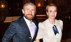 Martin and Amanda, Richard III Press Gala (They both look a little startled!)