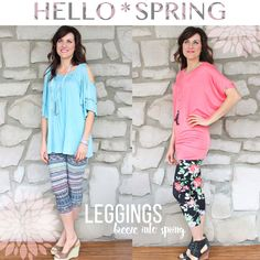 Welcome the warm weather with our new cropped leggings in multiple styles! SHOP: http://bit.ly/1HkPUz4 #justjewelry #jewelry #spring #fashiontrends #springfashion #fashionaccessories #new #leggings