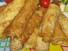Clatite umplute cu ciuperci si piept de pui, Rețetă Petitchef Waffles, Pancakes, French Toast, Food And Drink, Cheese, Breakfast, Salads, Essen, Morning Coffee