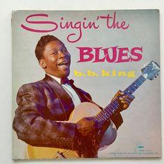 B.B. King - Singin' The Blues LP Vinyl Record Album, Crown Records - CLP 5020, 1957, Original Pressing