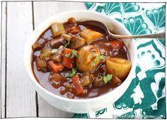 Vegan Irish Stew, winter comfort food