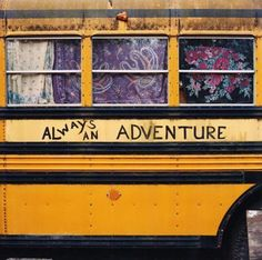 hippy bus | Tumblr - the place my high school friend Karol and I always wanted to be. Traveling the highways!