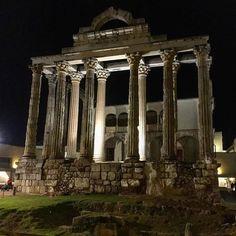 Templo de Diana. #nocturno #Mérida #romano