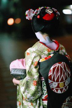 A Maiko of Miyagawa-cho, Kyoto, Japan, October 2006, by John Paul Foster