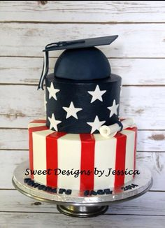 Coconut cake with a coconut cream cheese filling Fourth Of July Cakes, 4th Of July Desserts, July 4th, Military Cake, Military Mom, Army Mom, Welcome Home Cakes, Congratulations Cake, Buffalo S
