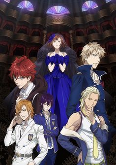 Dance With Devils Franchise Gets Theatrical Anime Project This Fall
