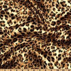 100 Leopard Chair Cover Sash Bows Safari Animal Print Satin Cheetah Wedding  #ElenaLinens