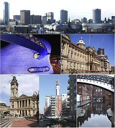 Birmingham, England, West Midlands, an amazing city! Birmingham England, Birmingham Alabama, Cool Places To Visit, Places To Go, Birmingham Airport, Picture Postcards, West Midlands, England Uk, British Isles