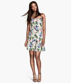 8a4effe80281a H&M Jersey Dress $14.95 H&m Fashion, Fashion Online, Pattern Fashion,  Cute