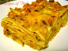 Traditional Italian Lasagna with Fish (Lasagna di Pesce) | Enjoy this authentic Italian recipe from our kitchen to yours. Buon Appetito!