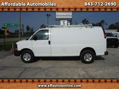 Used 2011 Chevrolet Express 3500 Cargo for Sale in Myrtle Beach SC 29577…