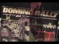 Domino Rally - Glow In The Dark Ghost Ride Set