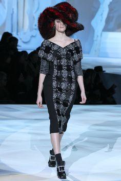Marc Jacobs Fall 2012 Ready-to-Wear Fashion Show - Laura Kampman