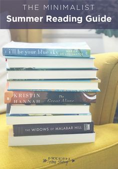 The 2018 Minimalist Summer Reading Guide – Modern Mrs. Darcy