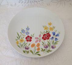 Bareuther Waldsassen Platter Flower Design by TreasuresFoundShoppe Check wanted, needed, desired