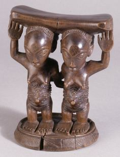 head-rest; Luba; Democratic Republic of Congo