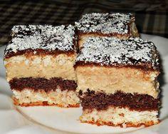 Prajitura cu nuca de cocos,biscuiti si crema de ness Romanian Desserts, Romanian Food, Romanian Recipes, Coco, Tiramisu, Cooking Recipes, Sweets, Biscuit, Cookies
