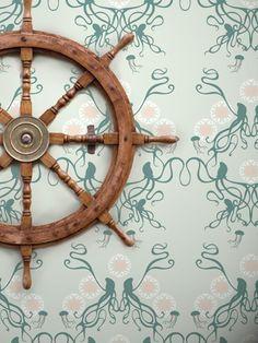 Octopus wallpaper.  <3