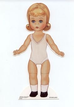 THE STORYLAND SERIES PAPER DOLL- print these on magnetic sheets :)