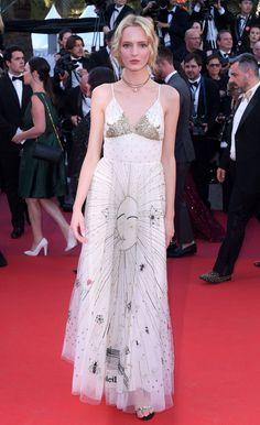 70th Annual Cannes Film Festival - May 2017 - Daria Strokous in Christian Dior