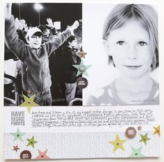 Have More Firsts by Ali Edwards using the Firsts Story Kit™ and Story Stamp™
