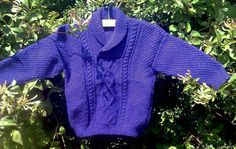 Child's boy girl toddler handknit purple amethyst by bebbyjumpers, £24.00